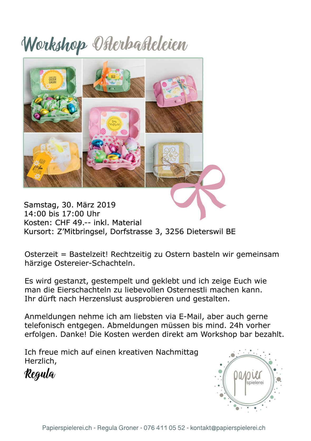 Programm Workshop